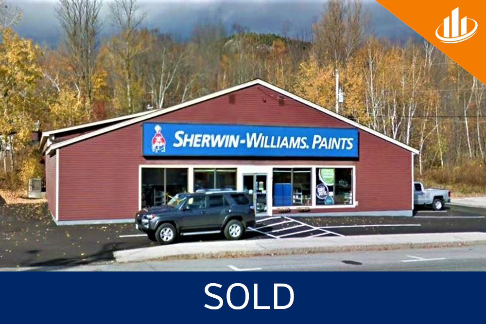 100% Net Leased to Sherwin-Williams